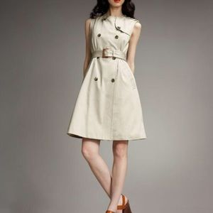 Marc by Marc Jacobs Trench Coat Sleeveless Dress